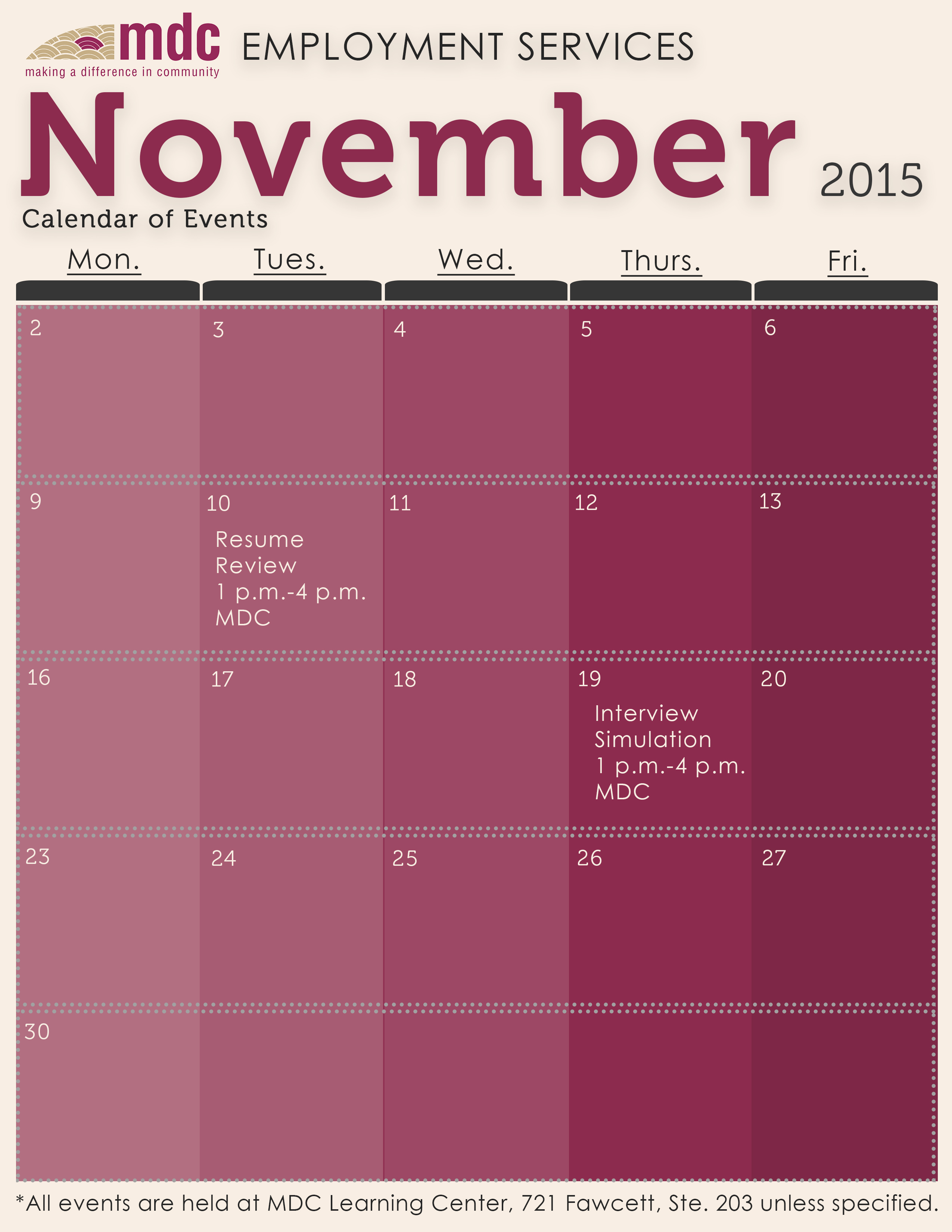Employment Events Calendar Nov. 2015[5]