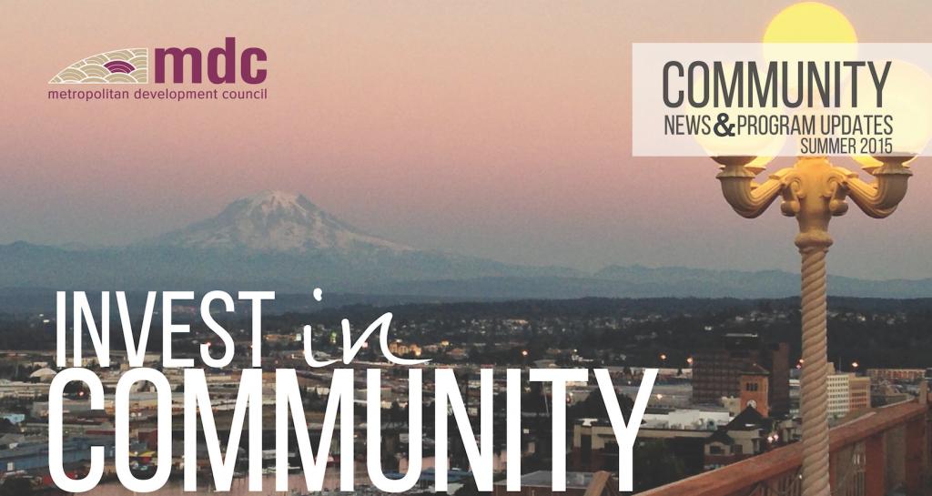 MDC Community News for Summer 2015