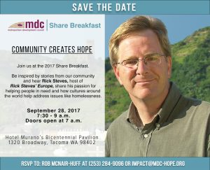 Save the Date for the 2017 MDC Share Breakfast on Sept. 28