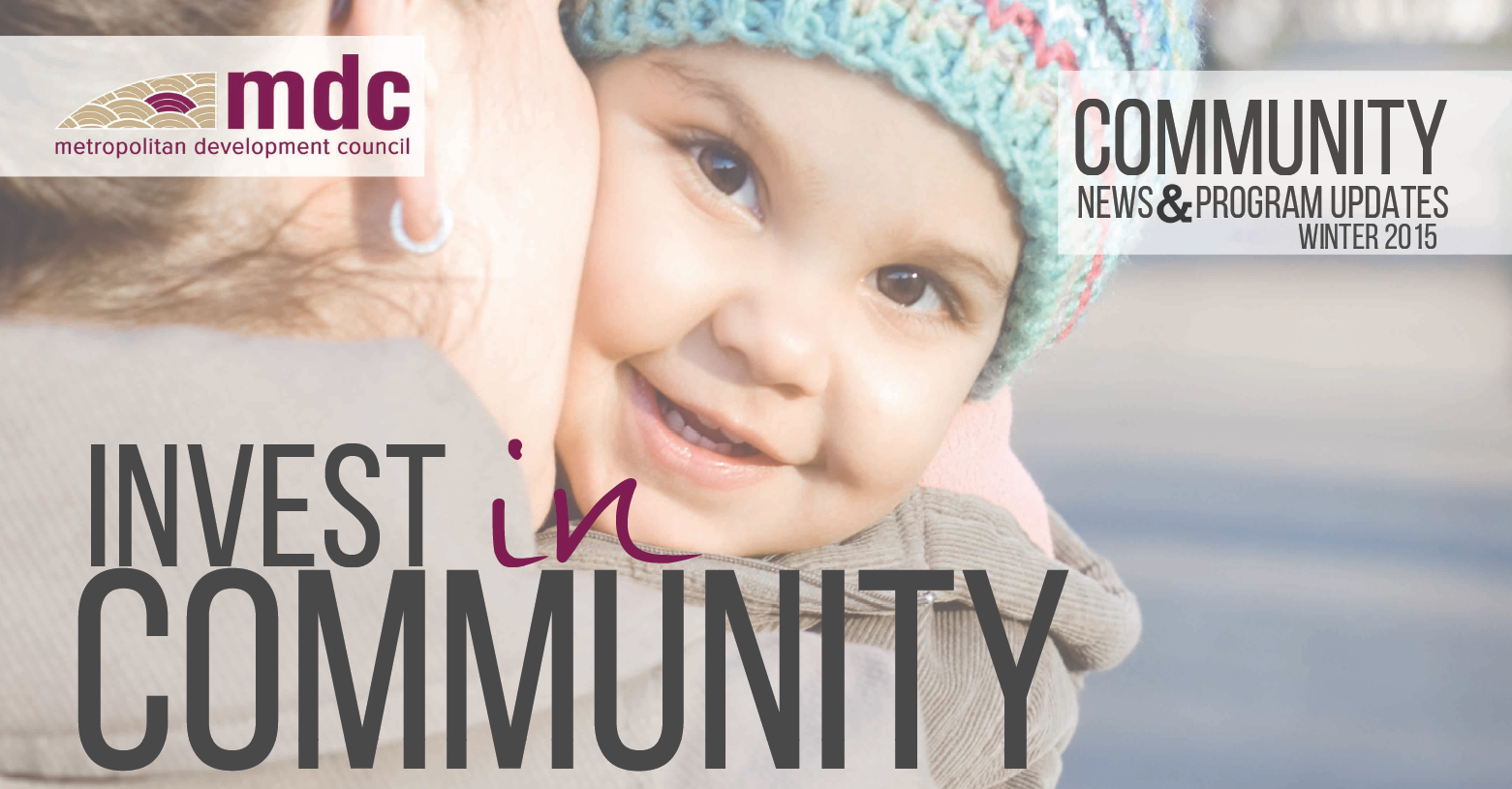 MDC Community News For Winter 2015