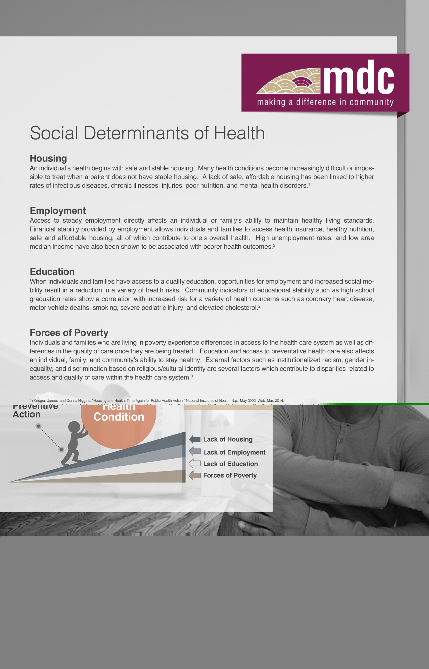 Social Determinants of Health web